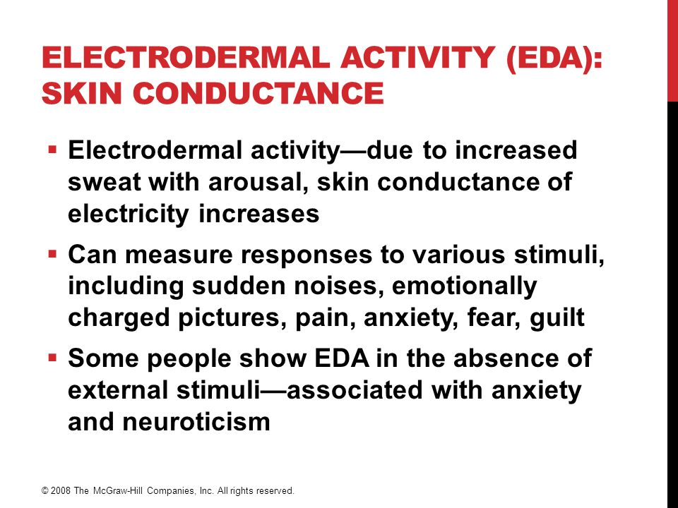 Electrodermal Activity (EDA): Skin Conductance