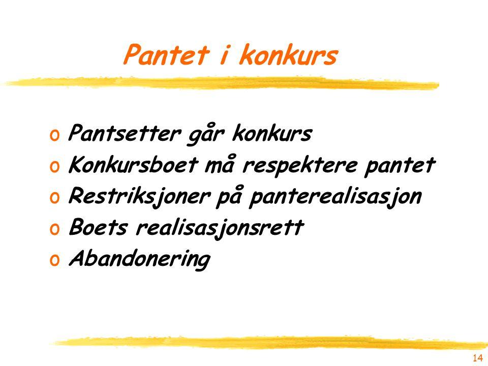Pantet i konkurs Pantsetter går konkurs