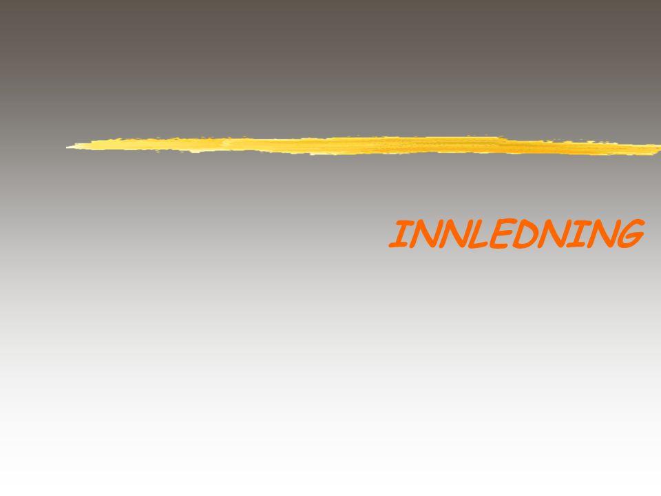 INNLEDNING