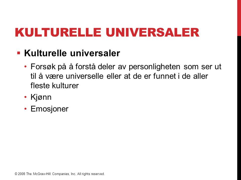 Kulturelle universaler