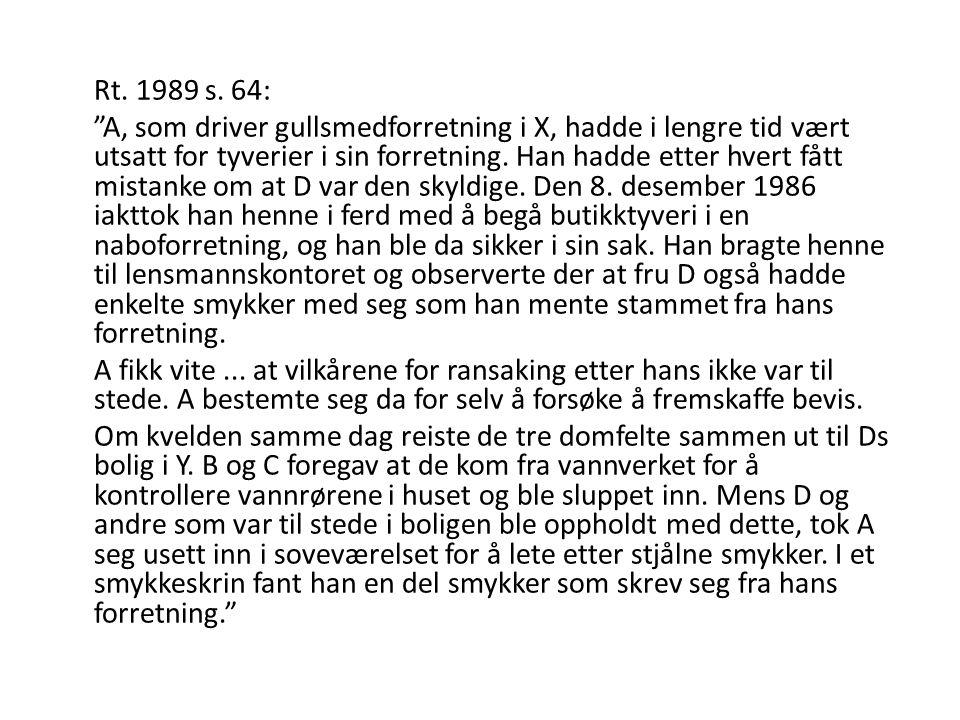 Rt. 1989 s. 64: