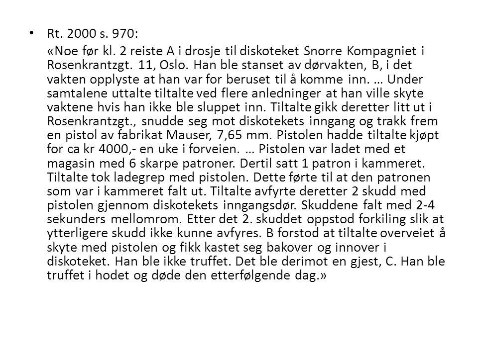 Rt. 2000 s. 970: