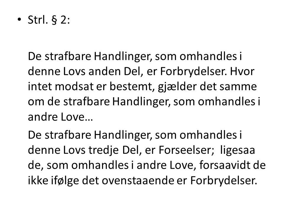 Strl. § 2: