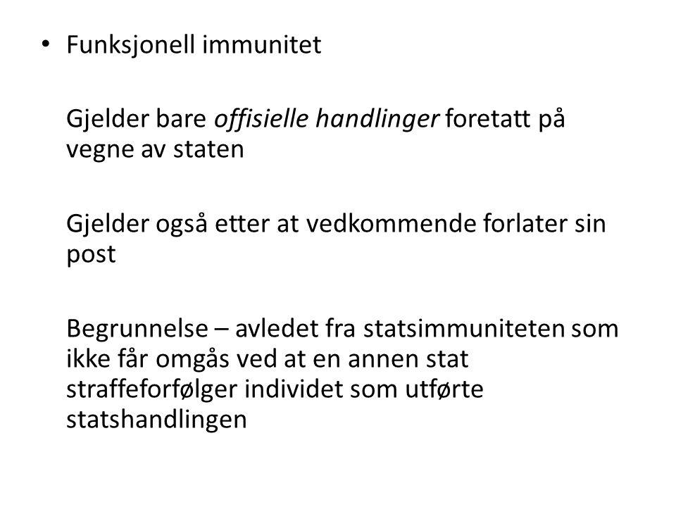 Funksjonell immunitet