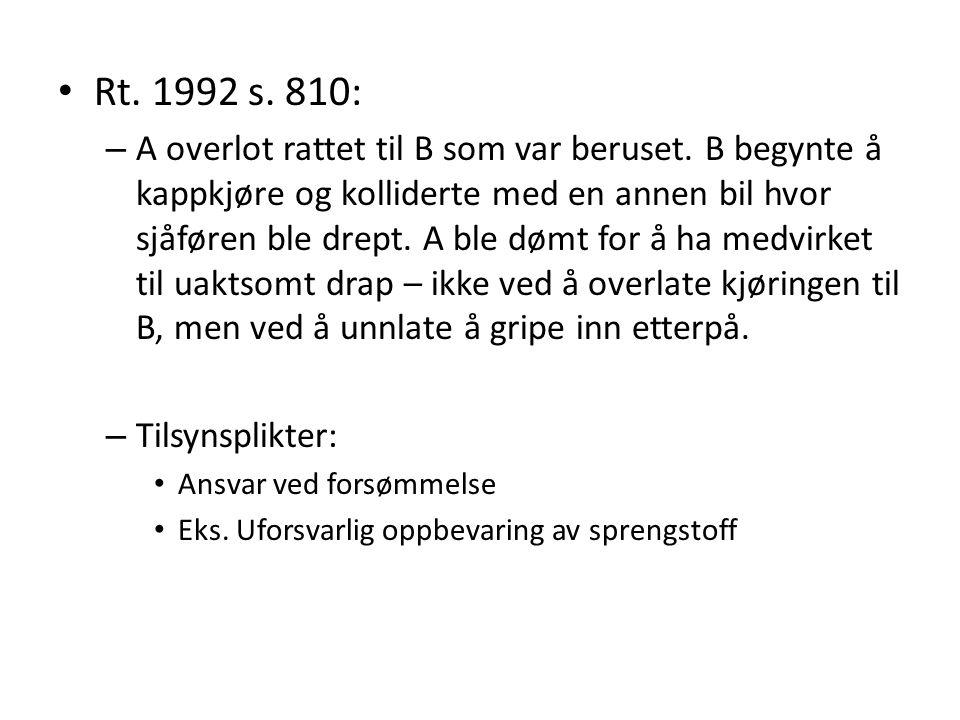 Rt. 1992 s. 810: