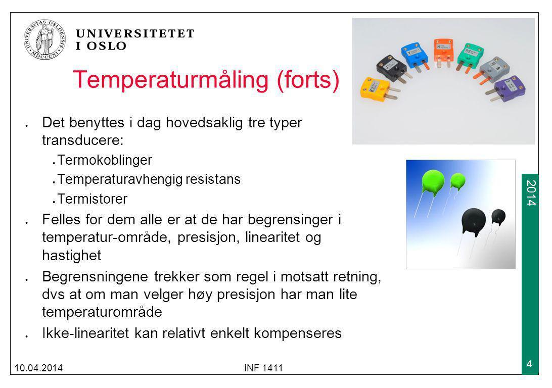 Temperaturmåling (forts)