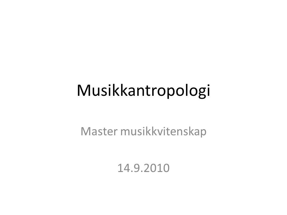 Master musikkvitenskap 14.9.2010