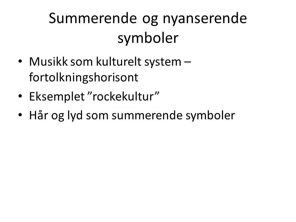 Summerende og nyanserende symboler