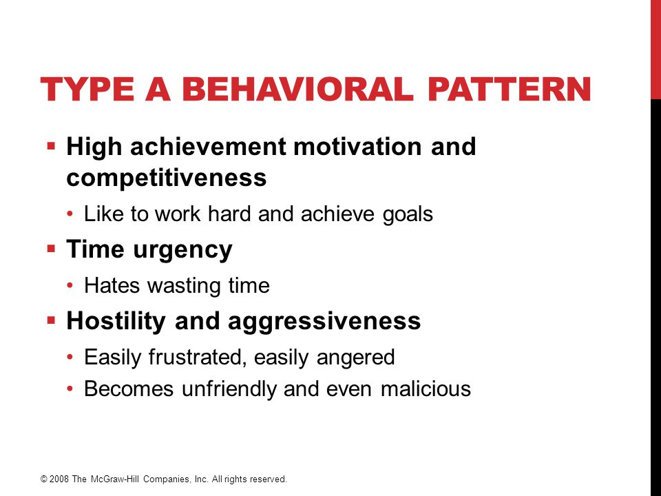 Type A Behavioral Pattern