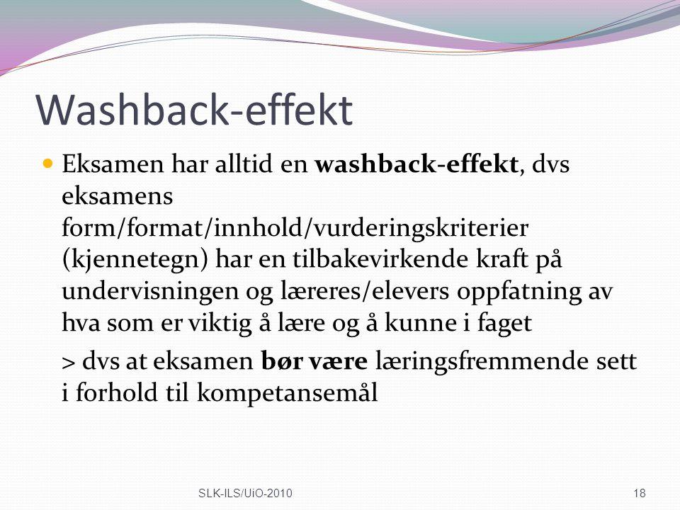 Washback-effekt