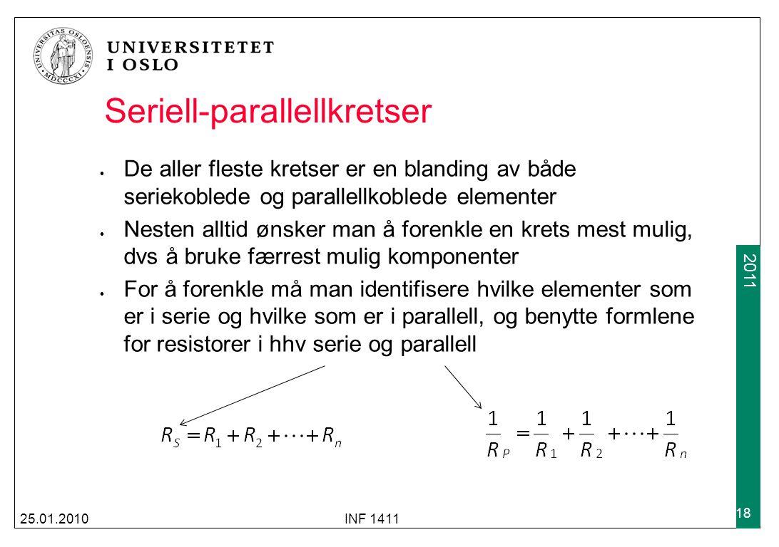 Seriell-parallellkretser