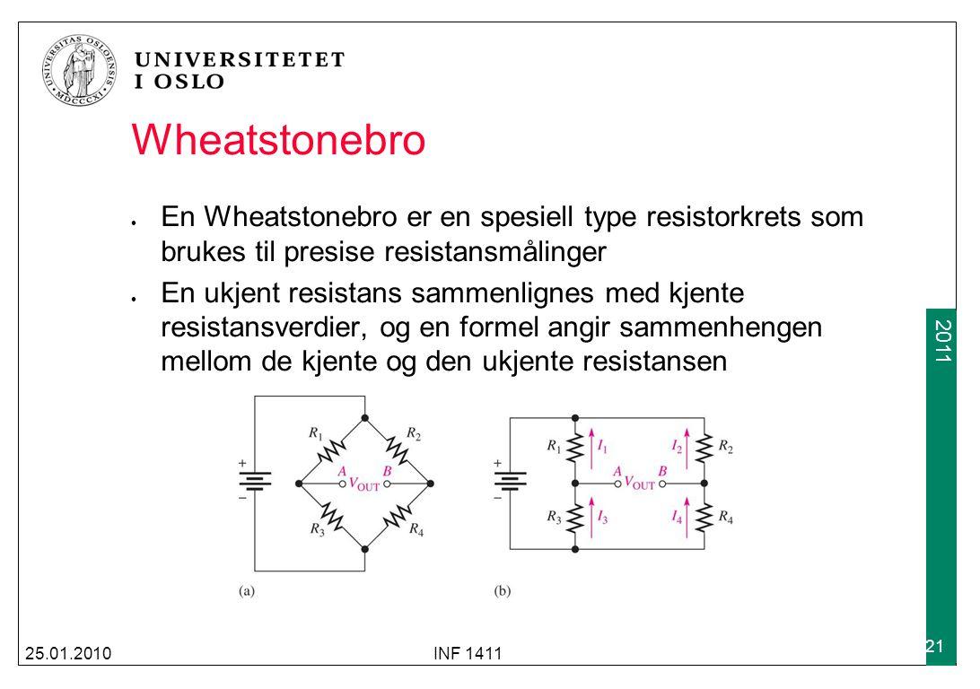 Wheatstonebro En Wheatstonebro er en spesiell type resistorkrets som brukes til presise resistansmålinger.