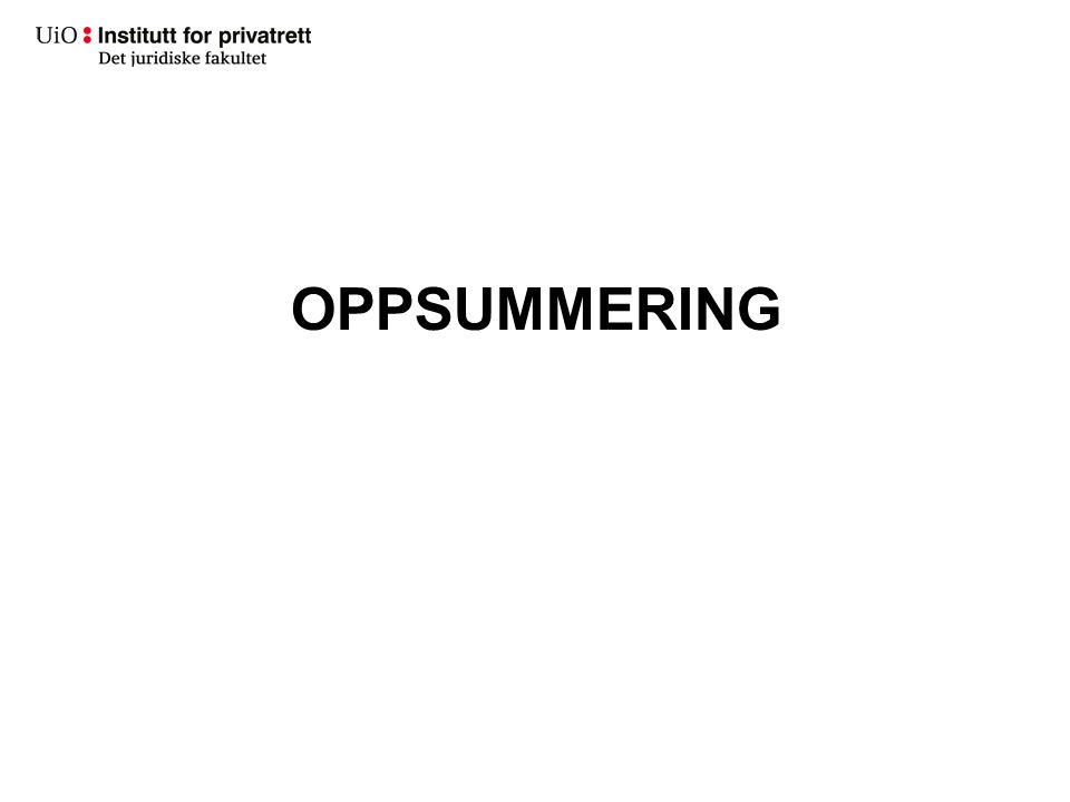 OPPSUMMERING