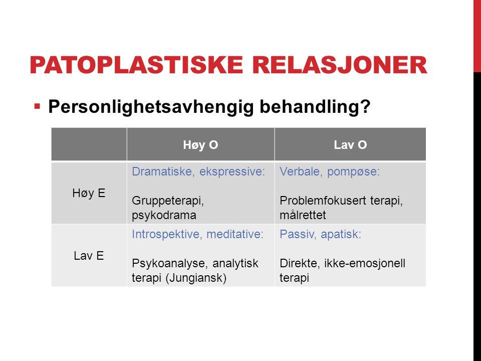 Patoplastiske relasjoner