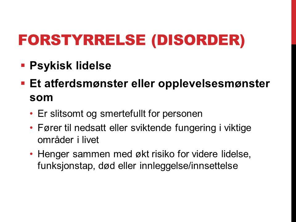 Forstyrrelse (Disorder)