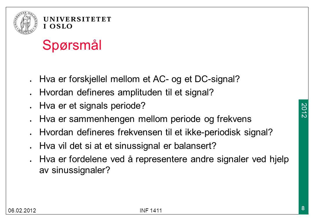 Spørsmål Hva er forskjellel mellom et AC- og et DC-signal