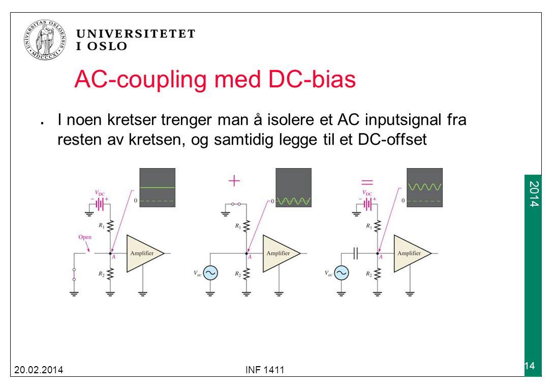 AC-coupling med DC-bias
