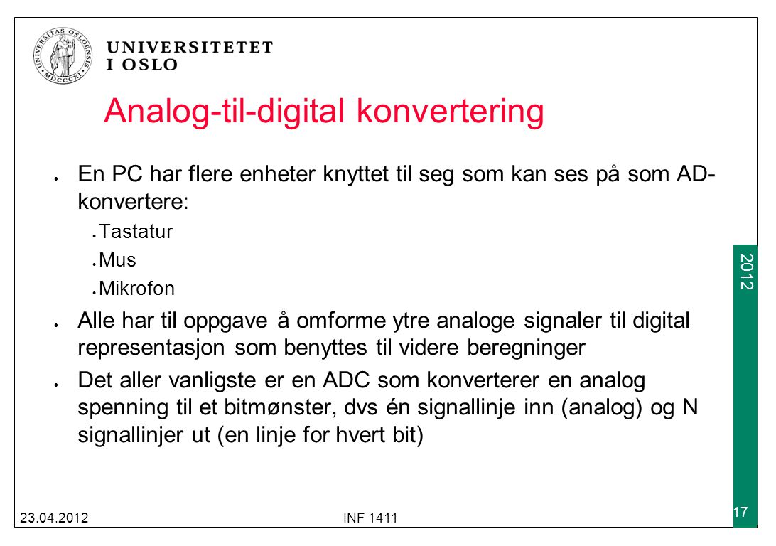 Analog-til-digital konvertering