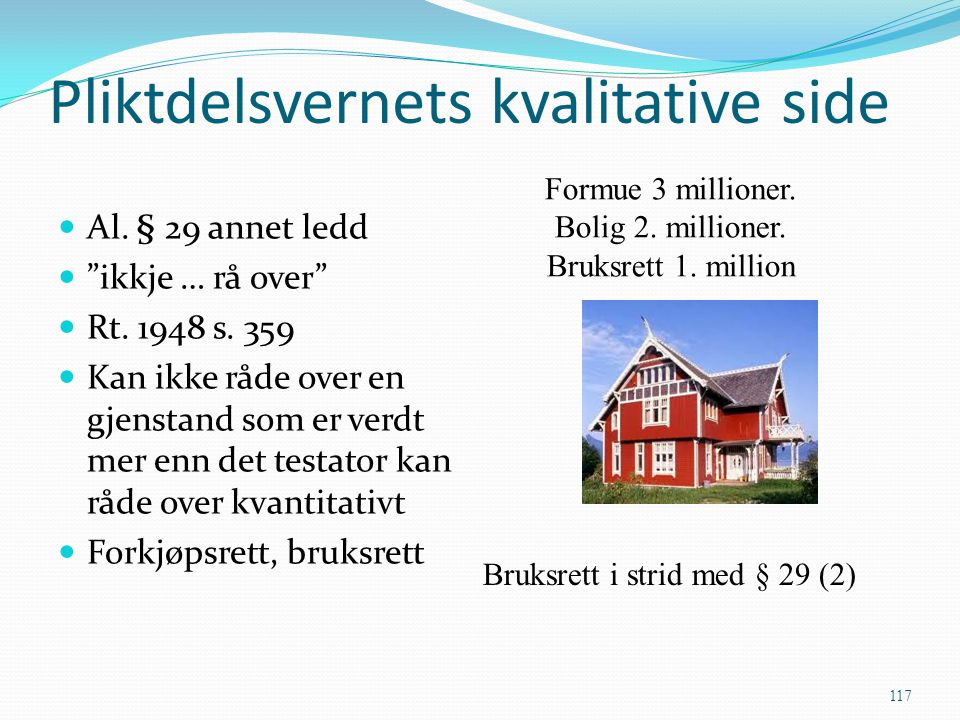 Pliktdelsvernets kvalitative side
