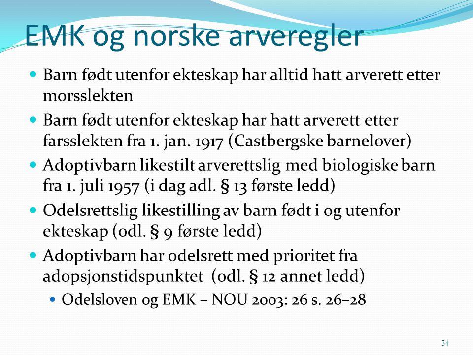 EMK og norske arveregler