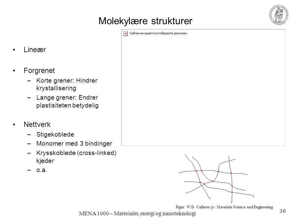 Molekylære strukturer