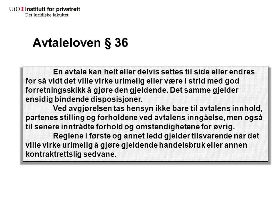 Avtaleloven § 36
