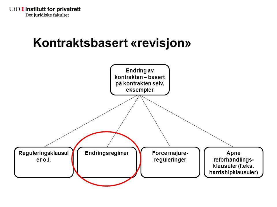 Kontraktsbasert «revisjon»