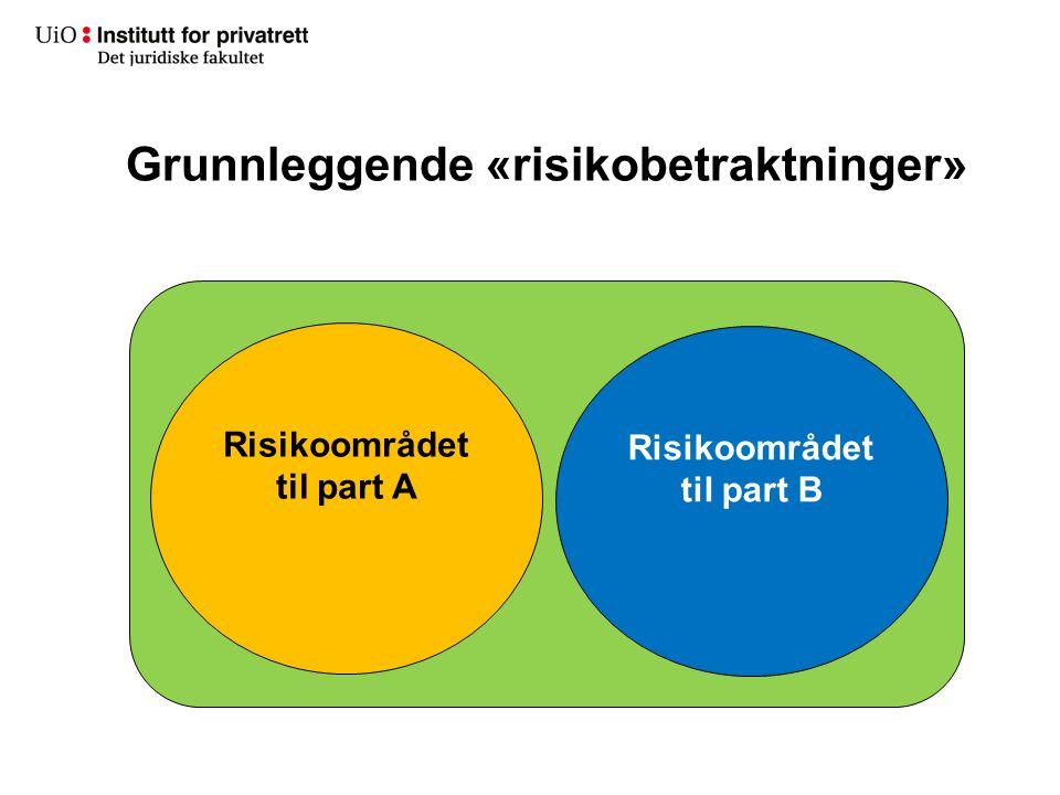 Grunnleggende «risikobetraktninger»