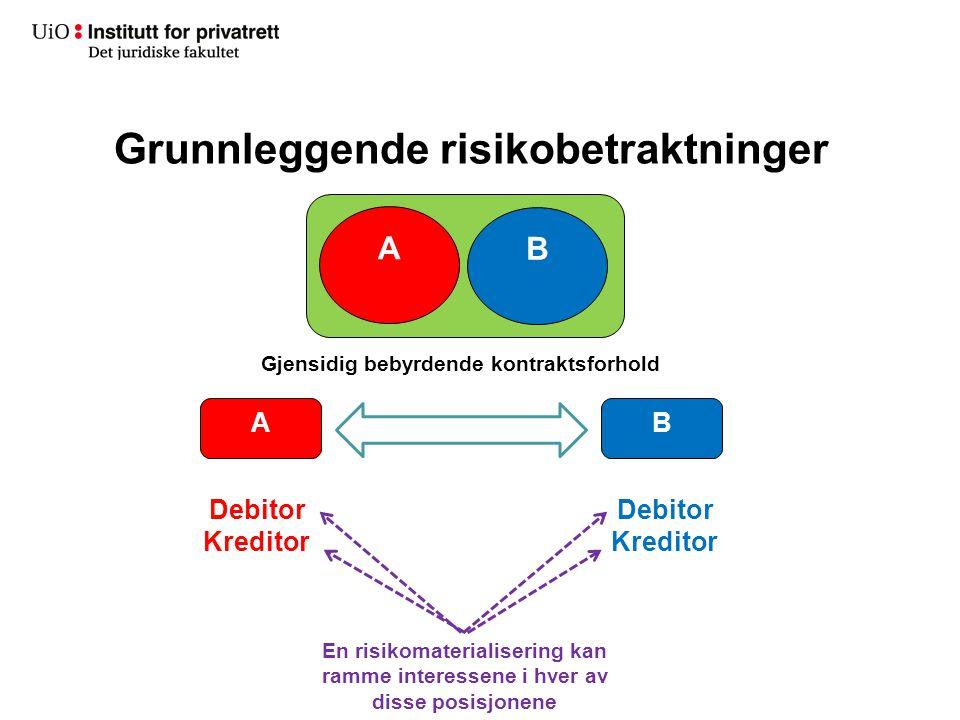Grunnleggende risikobetraktninger