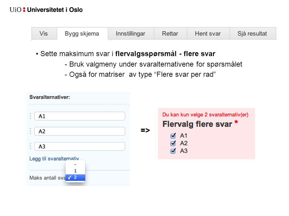 Ny felt-type: Dato dato-velger ved svaring formatkontroll =>