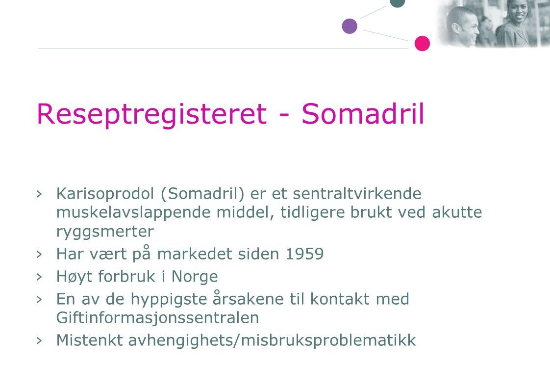 Reseptregisteret - Somadril