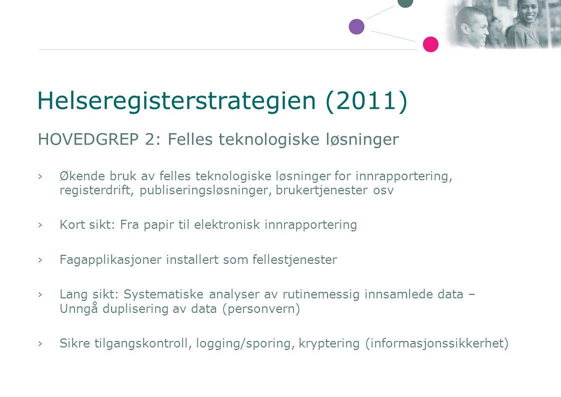 Helseregisterstrategien (2011)