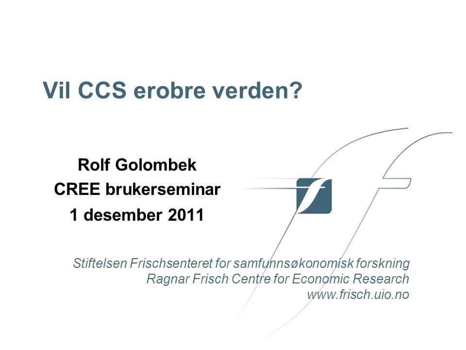 Rolf Golombek CREE brukerseminar 1 desember 2011