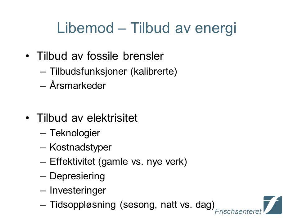 Libemod – Tilbud av energi