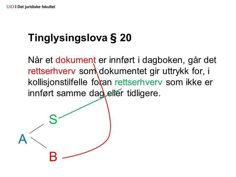 Tinglysingslova § 20