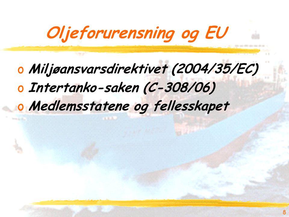 Oljeforurensning og EU