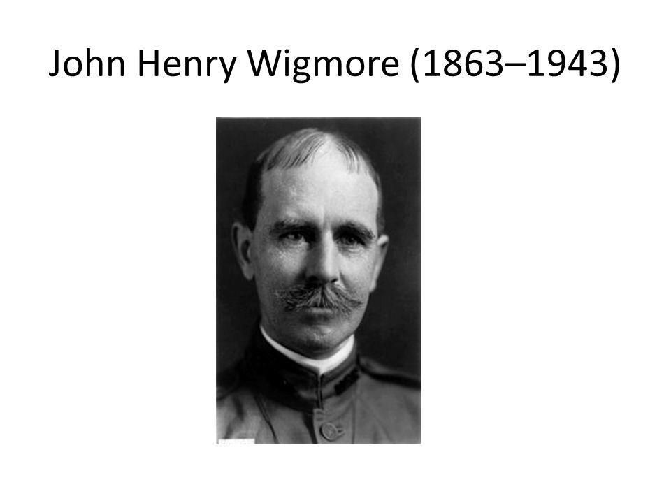 John Henry Wigmore (1863–1943)