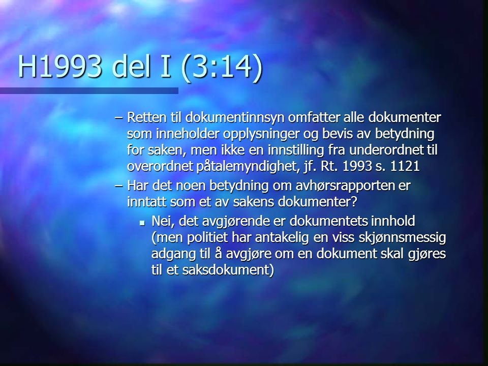 H1993 del I (3:14)