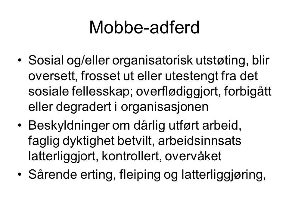 Mobbe-adferd