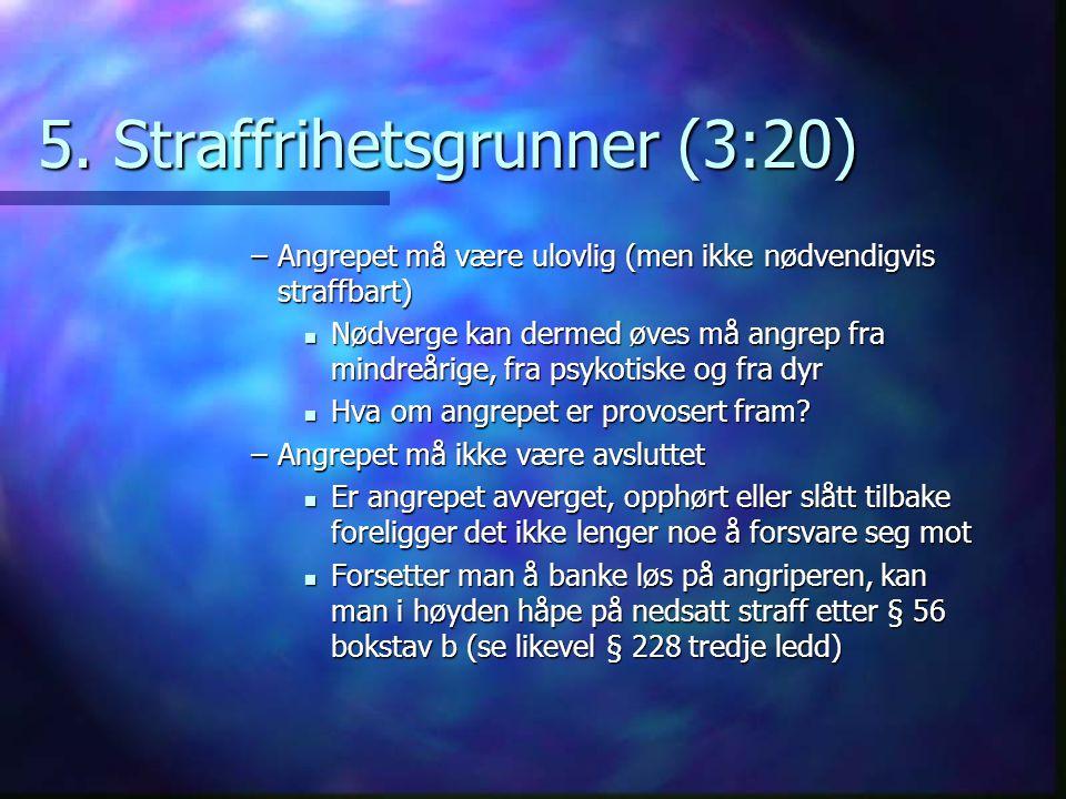5. Straffrihetsgrunner (3:20)
