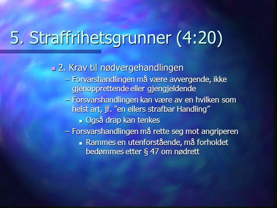 5. Straffrihetsgrunner (4:20)