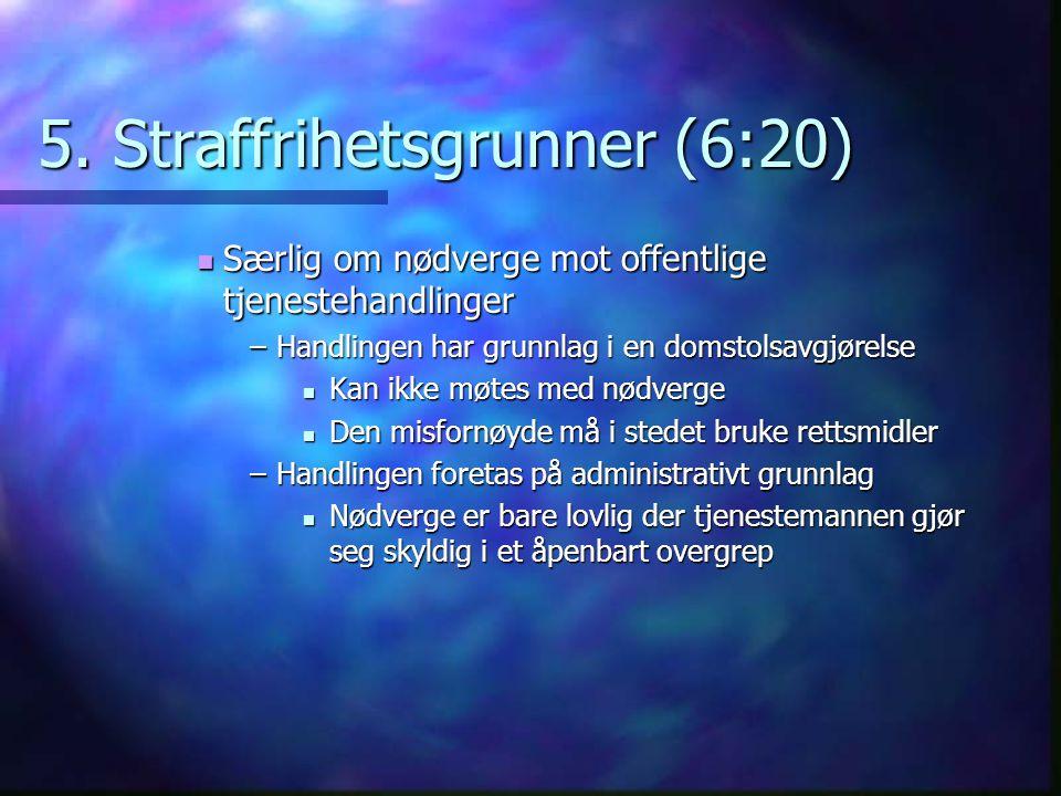 5. Straffrihetsgrunner (6:20)