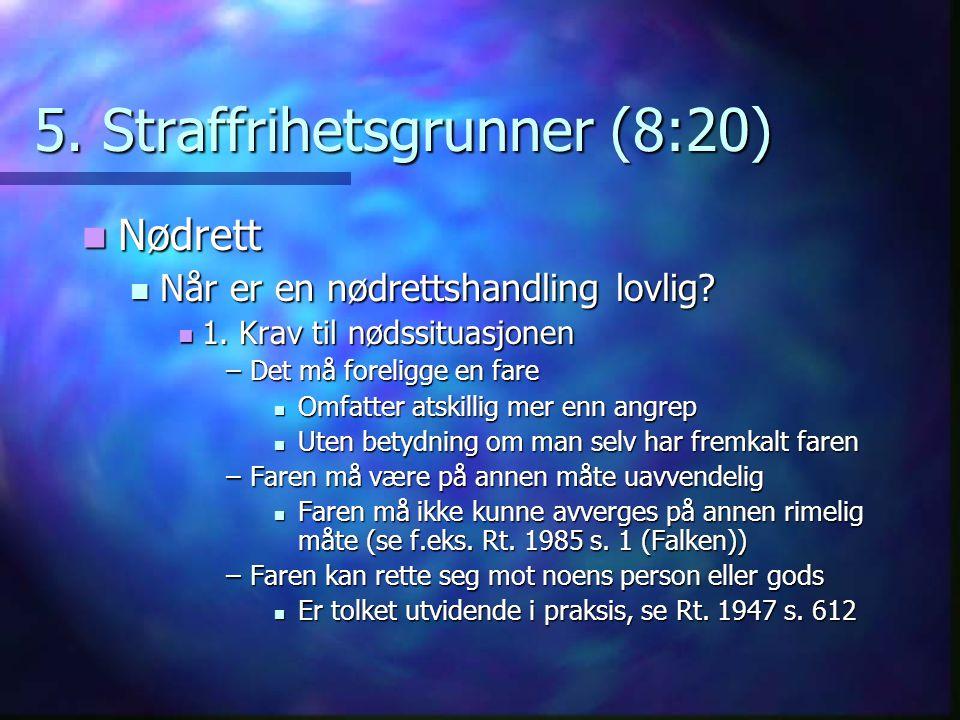 5. Straffrihetsgrunner (8:20)