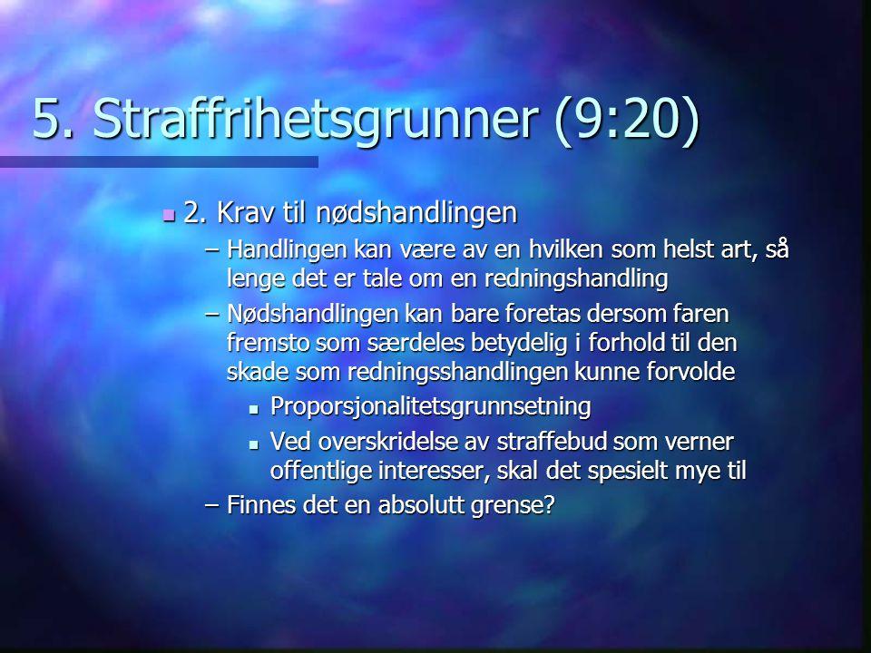 5. Straffrihetsgrunner (9:20)