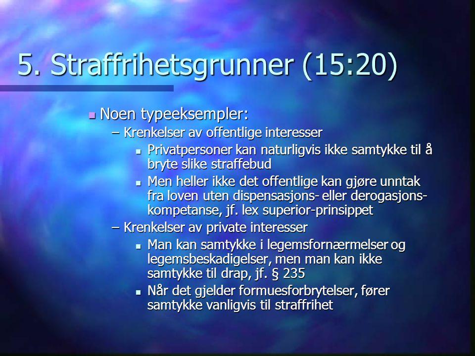 5. Straffrihetsgrunner (15:20)