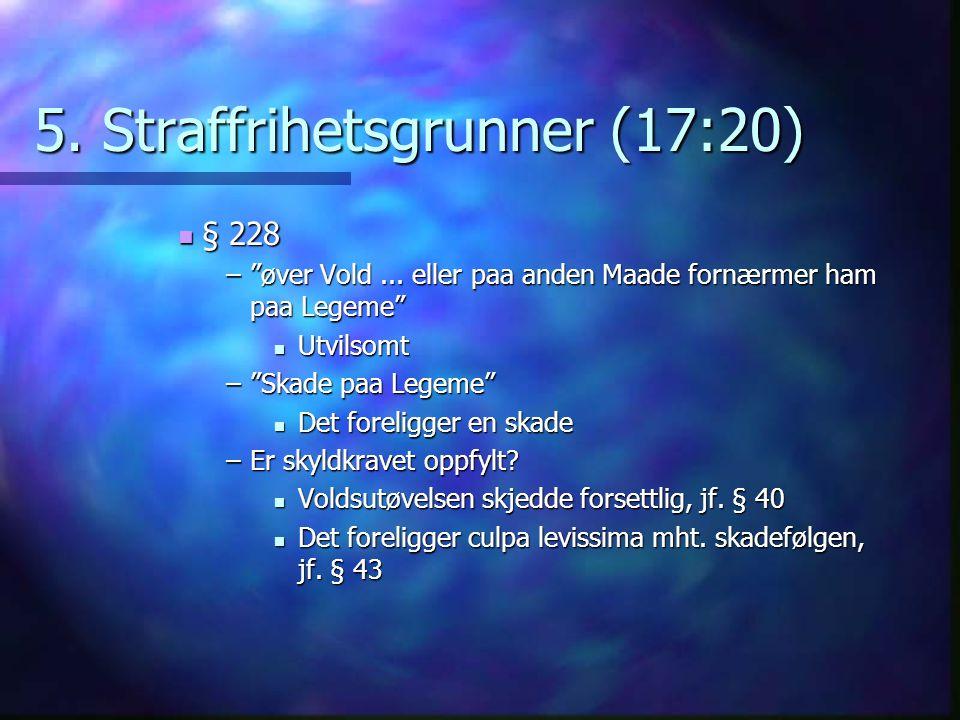 5. Straffrihetsgrunner (17:20)