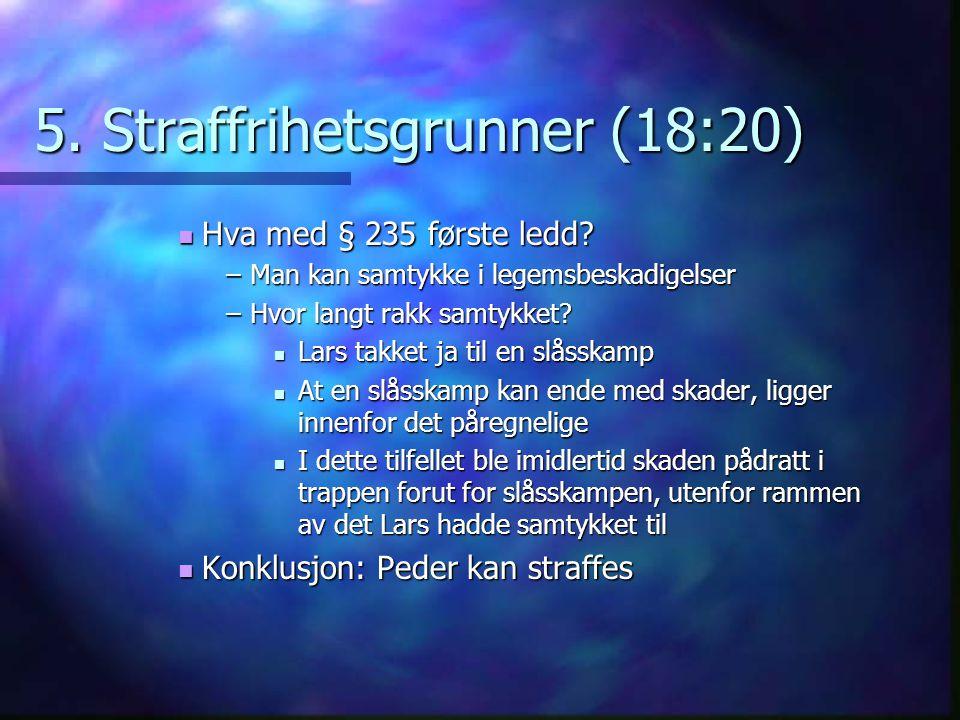 5. Straffrihetsgrunner (18:20)