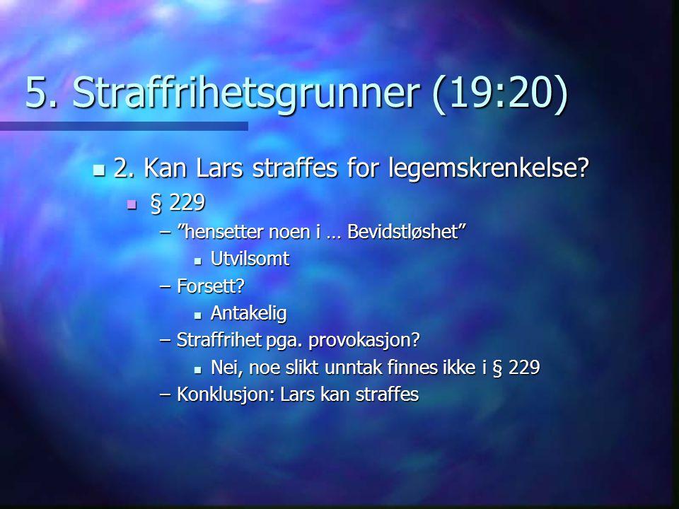 5. Straffrihetsgrunner (19:20)