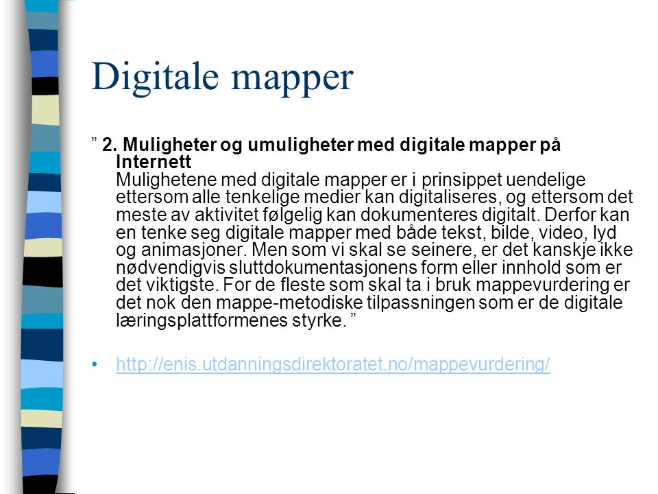 Digitale mapper