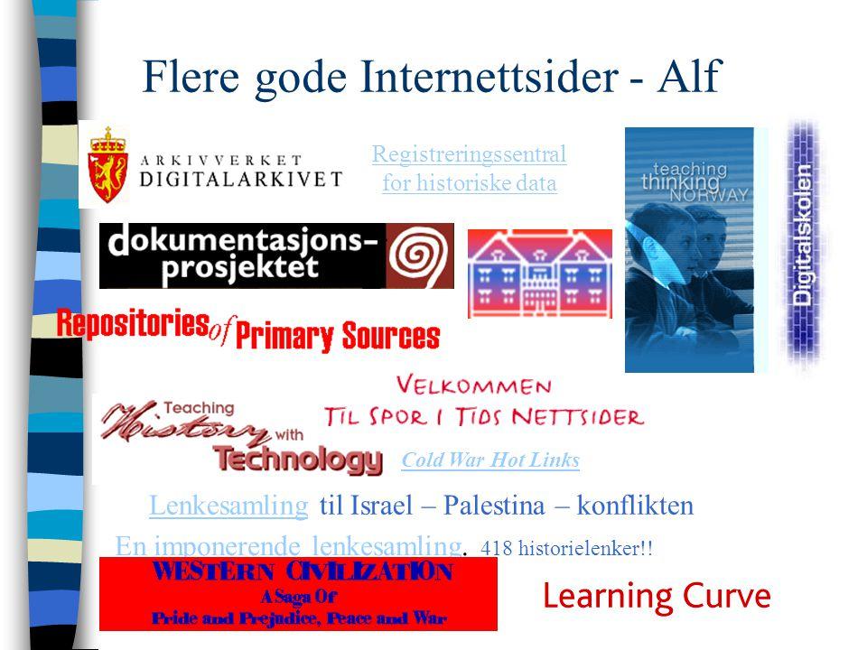Flere gode Internettsider - Alf